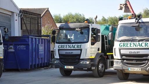 Grab truck hire for quick and easy waste removal